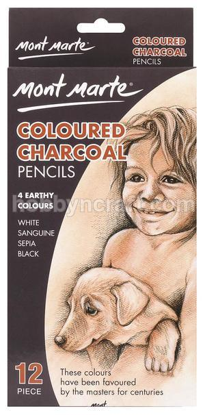 MONT MARTE COLOURED CHARCOAL PENCIL