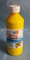 ACRYLIC PAINT PRIMARY YELLOW